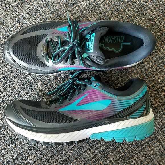 d4056a916ed Brooks Shoes - Brooks Ghost 10 GTX Running Shoe Womens Goretex